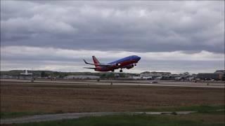 Close Up Takeoffs! - Providence Spotting 5/12/2017
