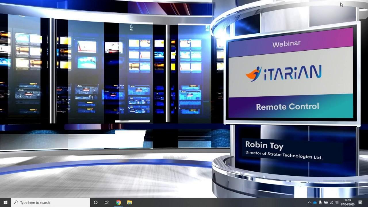 ITarian Remote Control | Remote Control Client Application
