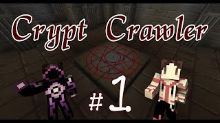 Minecraft - 【秋風與紙片】Crypt Crawler 地牢爬行者 partⅠ 困難的有什問題!?