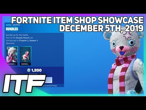 Fortnite Item Shop *NEW* BUNDLES SKIN! [December 5th, 2019] (Fortnite Battle Royale)