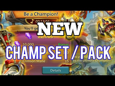 Lords-Mobile | NEW CHAMPION PACK AND SET OP!