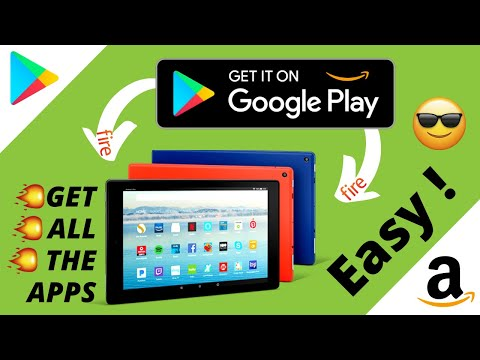 How To Download Google Play Store On Amazon Fire Tablet EASY (2020)