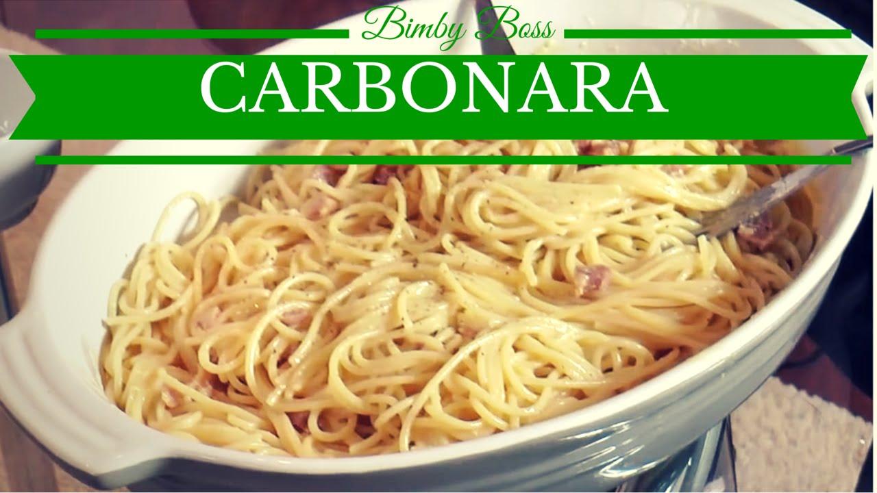 Ricetta spaghetti alla carbonara bimby