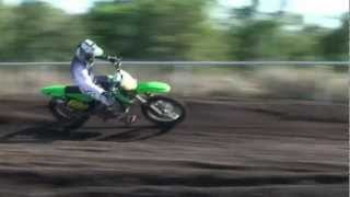 big mx crash kx250f 2012 daniel price