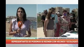 7tv - Unidas Podemos por la creación del Parque Regional del Mar Menor