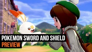 Pokemon Sword & Shield Preview