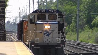 Amtrak & NJ Transit Railfanning at North Elizabeth