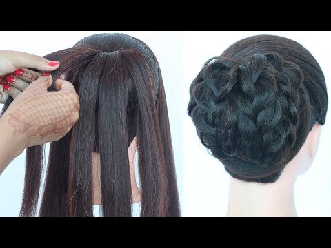new-latest-messy-bun-hairstyles-||-hairstyle-for-curly-hair-||-easy-hairstyle-||-hairstyle-for-girls
