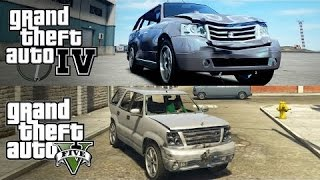 GTA V (PS4) vs GTA IV (PS3)