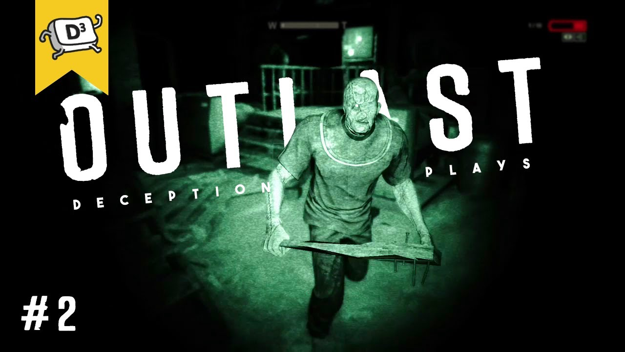 THE NIGHTMARE BEGINS | Outlast Scary & Funny Moments (you won't last 10 seconds watching this game)