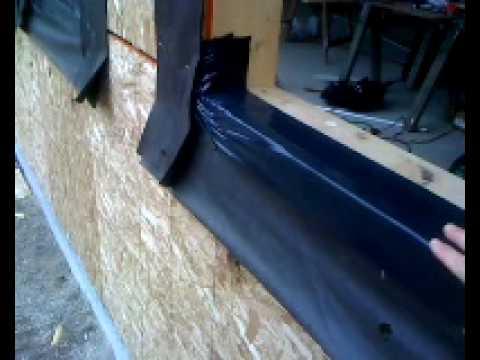 Waterproofing The Windows Mon 26 Apr Youtube
