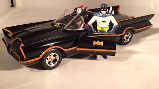 Review: 1966 Batman TV Series Batmobile & Adam West Figure 1/24 Jada Metals