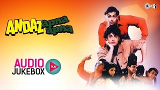 Andaz Apna Apna Jukebox - Full Album Songs | Salman, Aamir, Raveena & Karisma