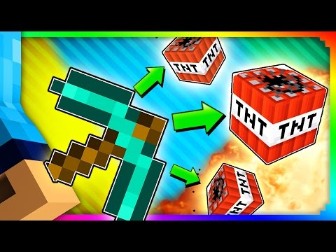 Minecraft How To Get An Exploding Xe