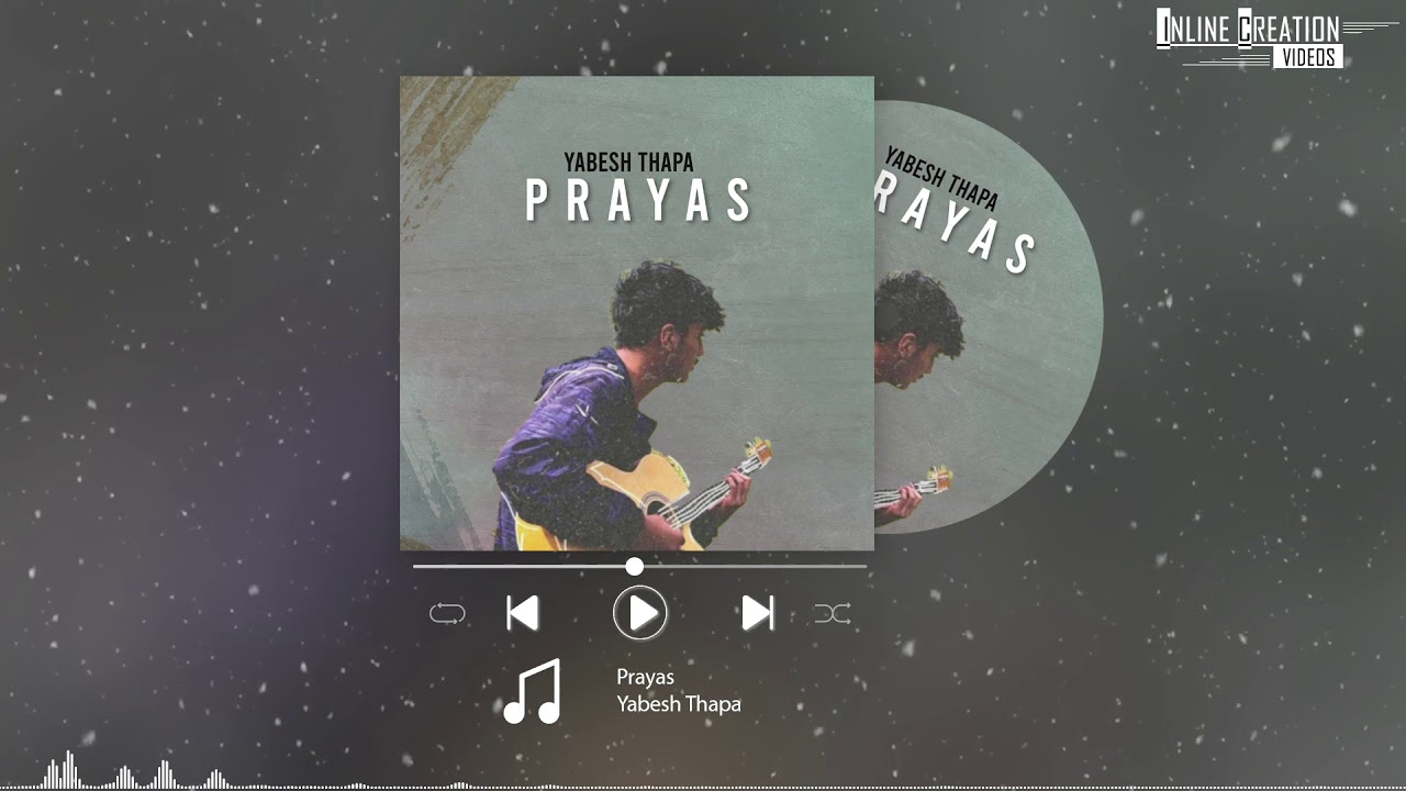 Download Prayas - Yabesh Thapa (Solo Version) || Lyrical Video ||