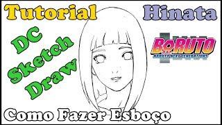 Como Desenhar Hinata - Boruto: Naruto Next Generations - How to Draw Hinata