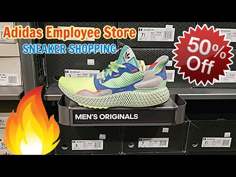 Lots of Adidas 4D at EMPLOYEE STORE for 50% OFF!