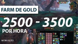 Farm de Gold wow - klaxy 2,5k - 3,5k gold por hora