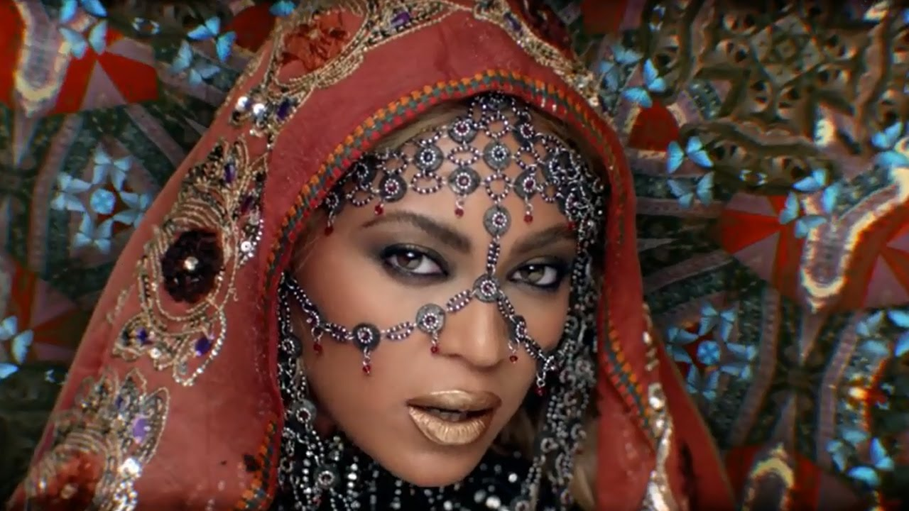 Beyonce STUNS In New Coldplay Music Video
