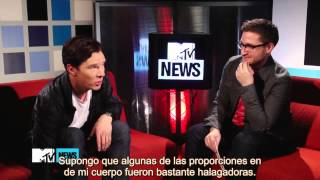Benedict Cumberbatch Reaccion al FanArt Sub Esp'
