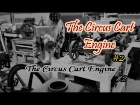The Circus Cart Engine metal finishing #2