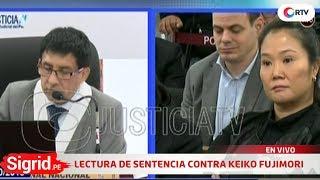 Lectura de resolución de prisión preventiva contra Keiko Fujimori en Sigrid.pe KEIKO 検索動画 1