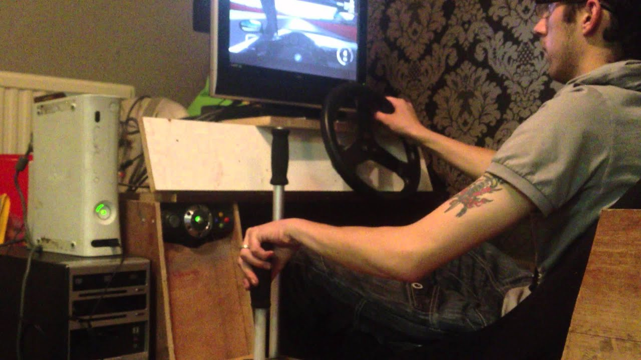Custom Xbox Racing Simulator Forza 4 Drift While Tipsy