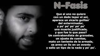 N-Fasis Abuso De Poder Letras/Lyrics/Liricas