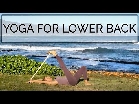Yoga for Lower Backs, with senior teacher Cat de Rham  www.onlineyogateaching.com