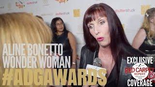 Aline Bonetto, Production Designer #WonderWoman interviewed at the 22nd Annual ADG Awards #ADGAwards