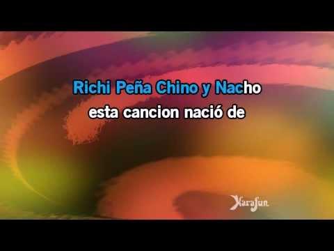 Karaoke Mi Niña Bonita - Chino & Nacho *