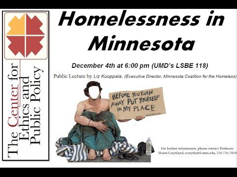 Homelessness in Minnesota  - audio