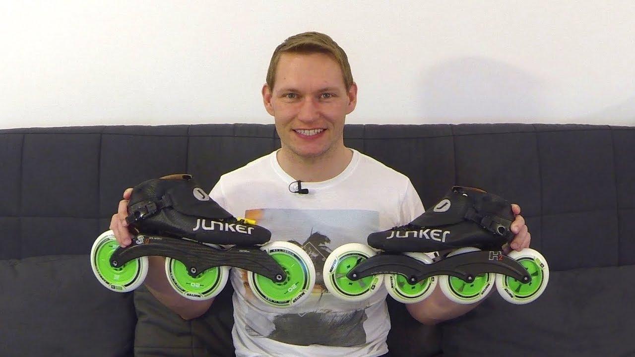 04.08.2015 Alex' Speedskate Equipment 2015 | HD Junker inline speed skating GoPro eAlex.me