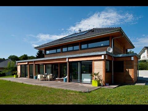 Maison bois ossature et poteaux poutre par vision bois du c t de chez vous t - Parasites du bois maison ...