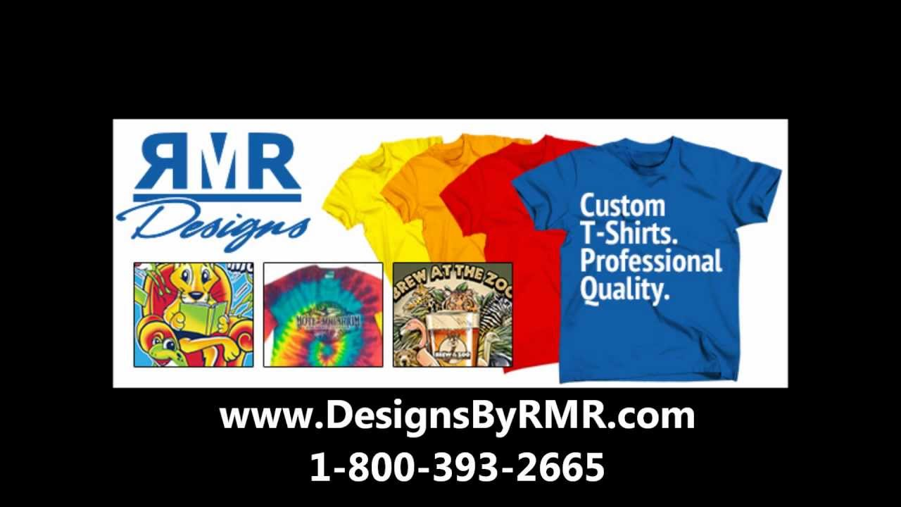 15915147a RMR Designs: The Easiest Way to get Custom Printed T-shirts - YouTube