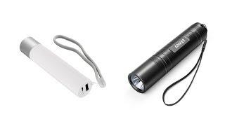 Trên tay đèn pin Xiaomi và Anker