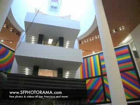 Flying Fan SFMOMA (San Francisco Museum Of Modern Art)