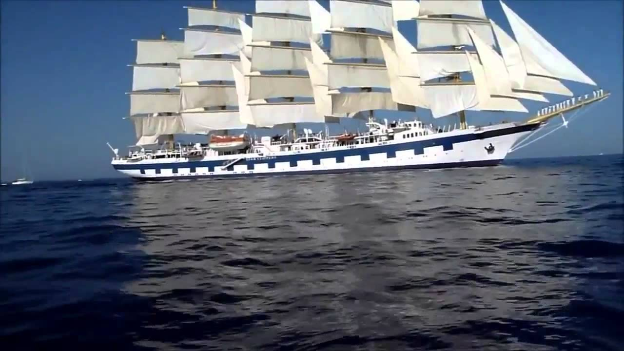 Modernste yacht der welt  Das größte Segelschiff der Welt - YouTube
