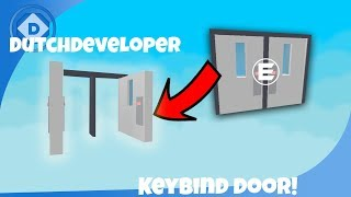 ROBLOX | Keybind door