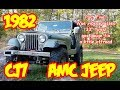 PT5 1982 Jeep Wrangler CJ7 rebuild, iVue video glasses test, fuel gauge fix, 33's