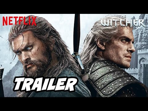 The Witcher Season 2 Teaser Trailer Netflix and Jason Momoa Announcement Easter Eggs