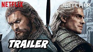 The Witcher Season 2 Teaser Trailer Netflix and Jason Momoa Announcement Easter Eggs