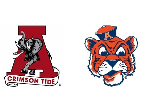 1971 Iron Bowl, #3 Alabama vs #5 Auburn (Bama