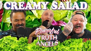 LASSENS CREAMY VEGAN SALAD REVIEW ft. Heavvy | Powerful Truth Angels | EP 13