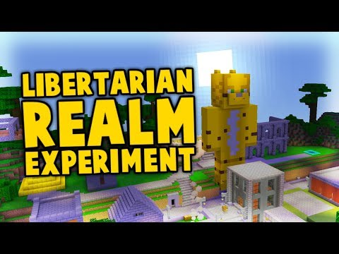 I Uploaded The Whole Earth To My Libertarian Minecraft Server