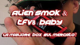 ALIEN 220 Watt kit e SMOK TFV8 Baby - la migliore Box sul mercato?