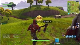 FORTNitE FOUILLER IN A BASSIN A MOULIN AND A PARASOL SECRET EMPLACEMENT DEFI WEEK 2