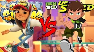 Subway Surfers  VS Ben 10: Up to Speed EPIC BATTLE!