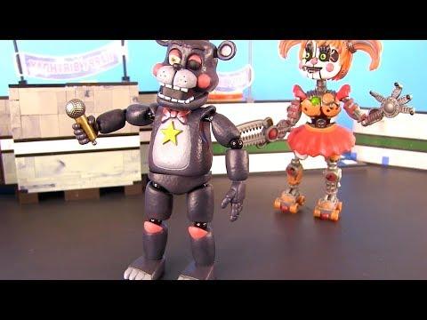ФНАФ! Главный Аниматроник Симулятор FNAF Funko Видео для детей! Игрушки c My Toys Potap