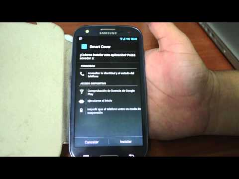 ba441ae93e2 Aplicación Smart Cover para fundas Flip en Android - YouTube